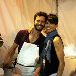 Chefs Ari Taymor and Domenique Crenn