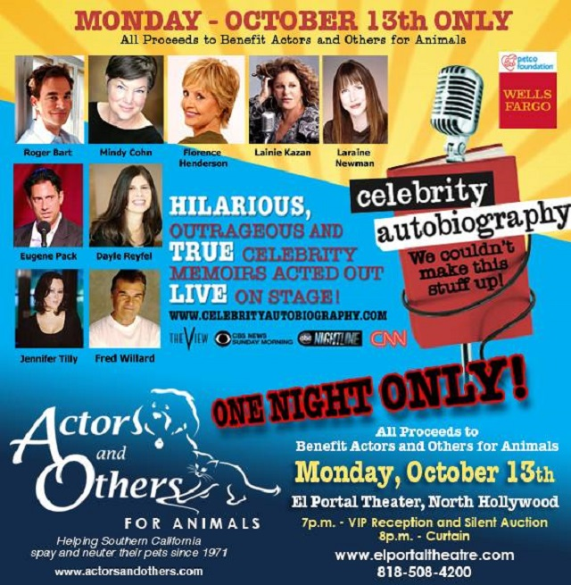 Promotional Poster Courtesy of Actors & Others for Animals