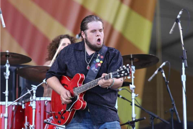 Jonathan 'Boogie' Long will bring his high energy trio, the Blues Revolution to Ventura.