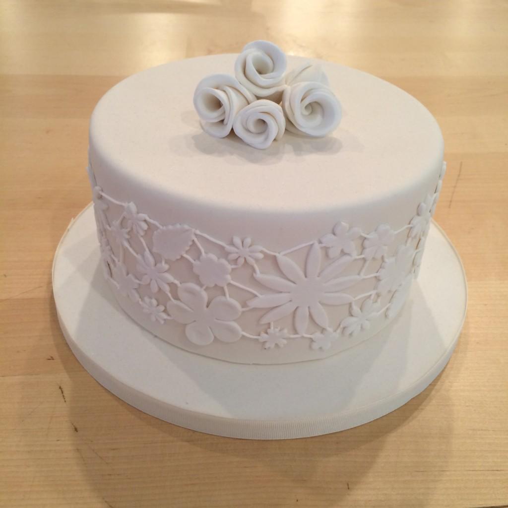 Romantic Lace Cake. Courtesy of Charm City  Cakes West.