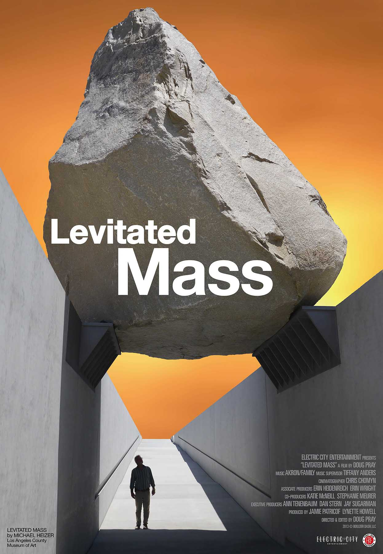 Levitated Mass / A Documentary