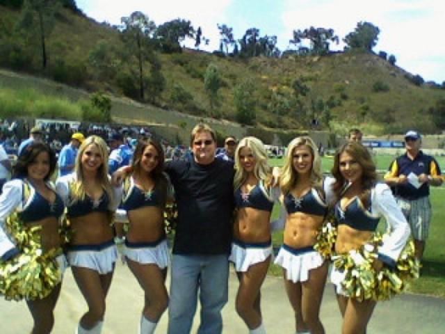 Larry Sherriff a few years ago at the Rauner Training Camp. Photo courtesy Rob Sheriff..