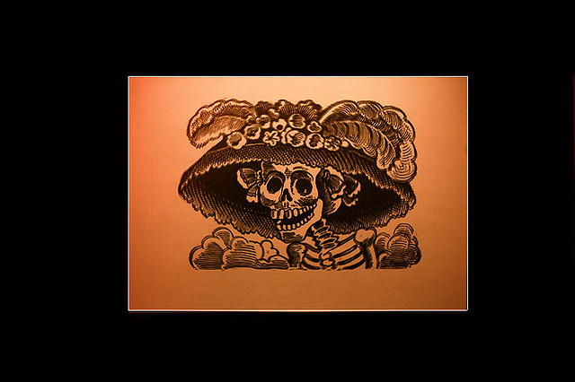 Catrina Photo of original artwork by Odin via Flickr