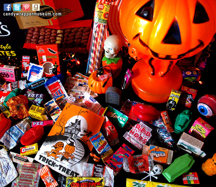 how to give candy on halloween