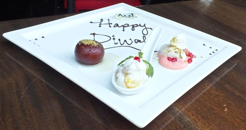 Dessert for Diwali Feast.