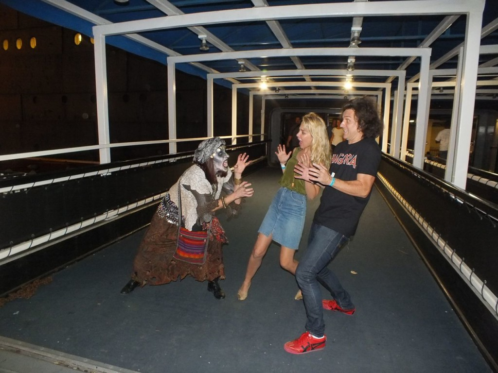 dark harbor' at the queen mary: prepare to be scared-very very