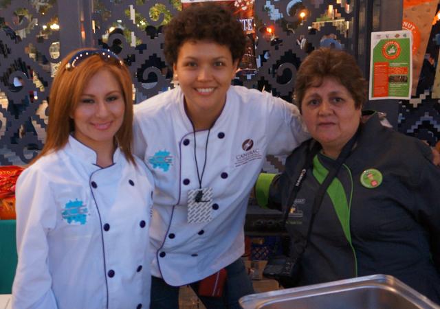 CANIRAC Hidalgo chef and staf