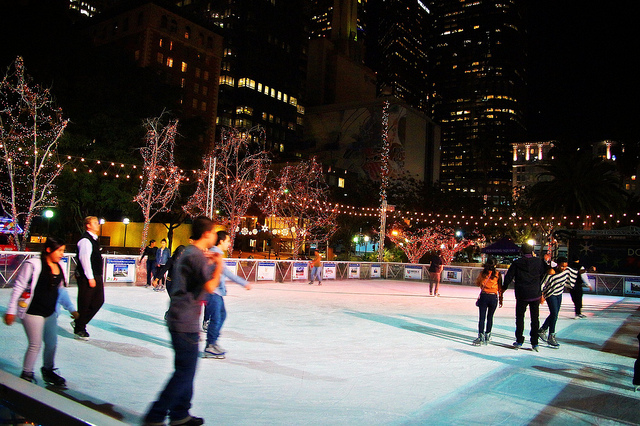 Skating Downtown by Greg Lilly via Flickr