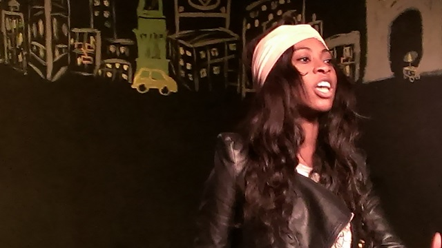 Melissa Mensah as a Captivating Nora--Photo Courtesy of Stacy Ann Raposa
