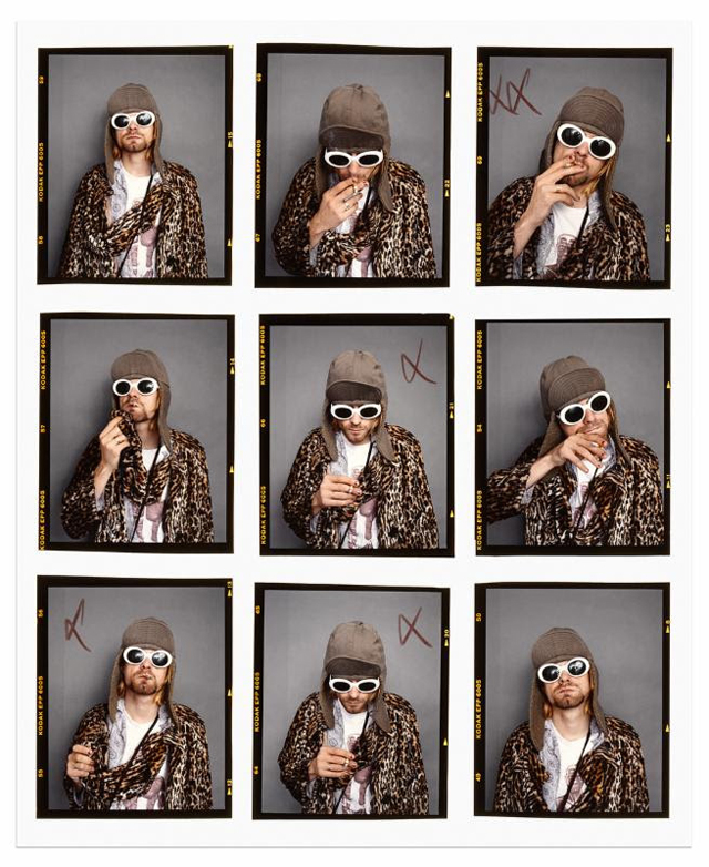 """Kurt Cobain: The Last Session"" at Morrison Hotel Gallery"