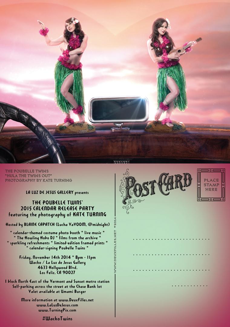 Poubelle Twins Calendar Release Party