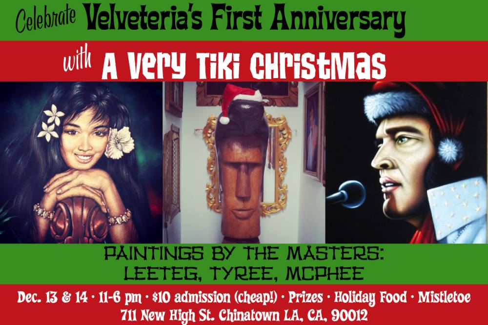 Velveteria Tiki Christmas