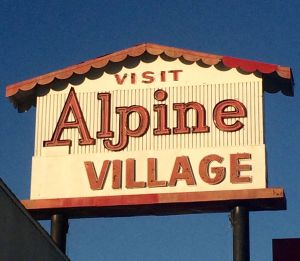 Alpine Village (photo by Nikki Kreuzer)