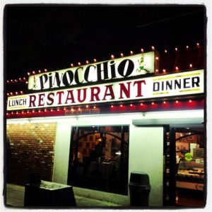 Pinocchio Italian Restaurant in Burbank (photo by Nikki Kreuzer)