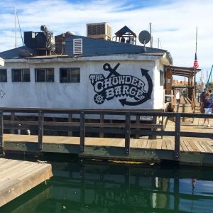 The Chowder Barge (photo by Nikki Kreuzer)