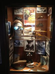 Aviation memorabilia at The Proud Bird (photo by Nikki Kreuzer)