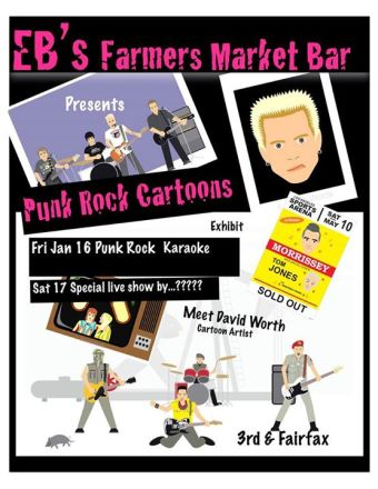 It's a Punk Rock Weekend at the Farmers Market