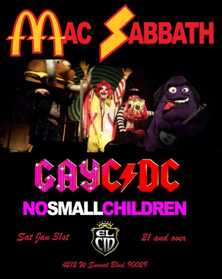 Flier Mac Sabbath