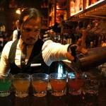 Jason Yu's magical rainbow drinks