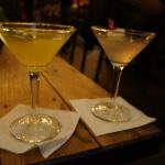 Edwin Mills Mango Tango and Lychee Martinis