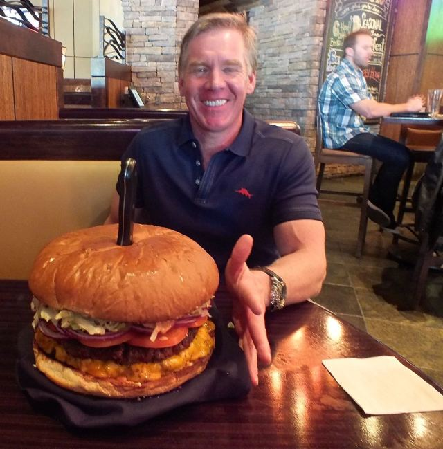Jason with BA Burger
