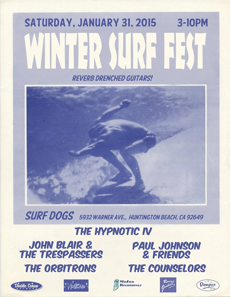 "This Year's ""Winter Surf Fest"" Blows in & Blows Up At Surf Dogs In Huntington Beach"