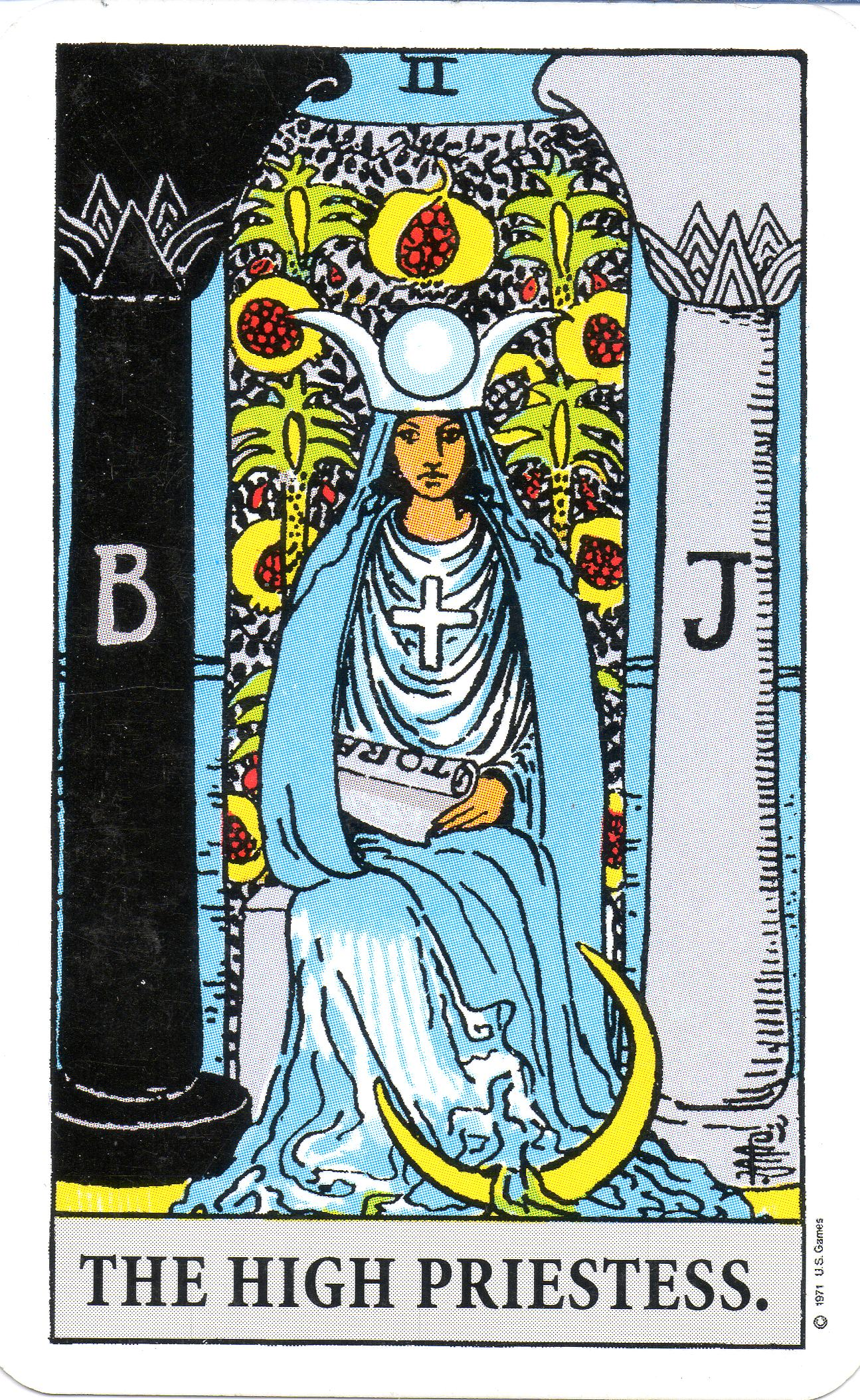 New Moon: The High Priestess and No Action