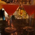 Edwin Mills  Pomegranite and Lemon-Berry Bliss Martinis