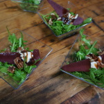 Spiced Pear Salad from The Purple Room