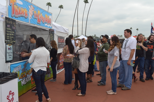 DSC_2844 PC Booth crowd. Photo courtesy of Fire It Up! Events