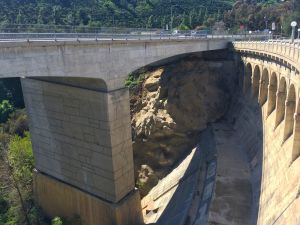 Devil's Gate Dam as seen from above (photo by Nikki kreuzer)