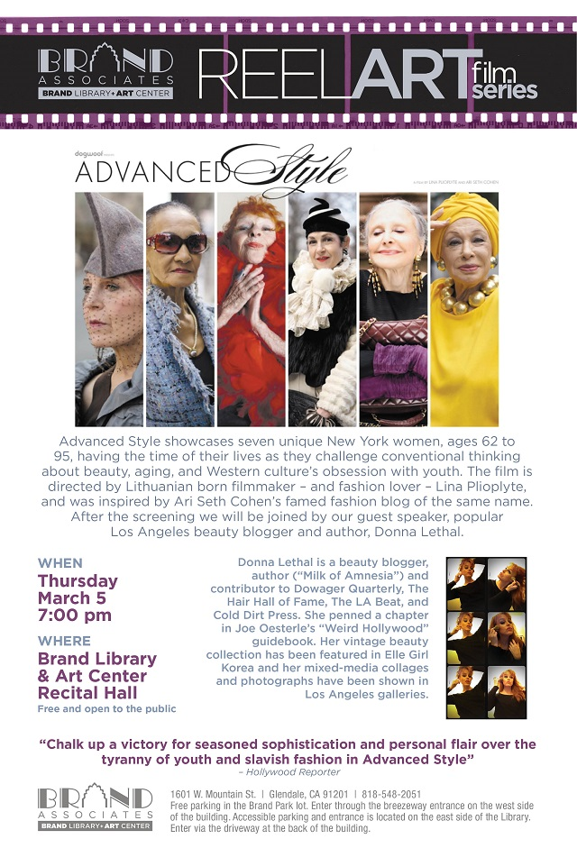 "The Beat's Donna Lethal Speaks at ""Advanced Style"" Screening"
