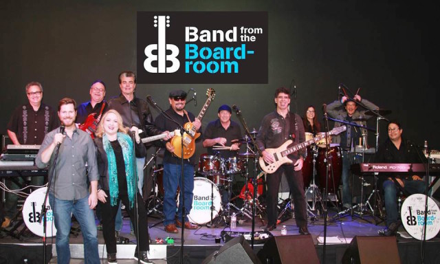 Band from the Boardroom Rocks the Corporate World