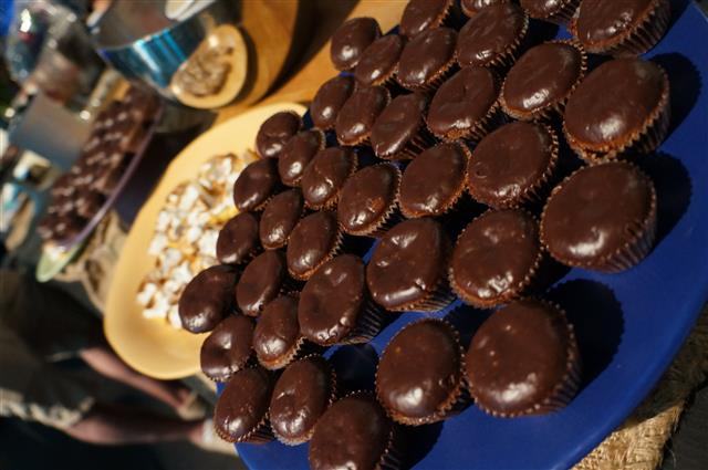 Triple Chocolate Cupcakes. Lemon Meringue Pie and more from Zoe Nathan at the All-Star Chef Classic