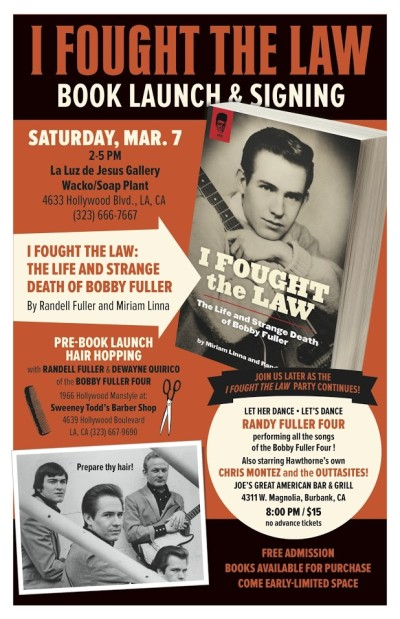 """Book Review """"I Fought The Law"""": The Life And Strange Death Of Bobby Fuller"""