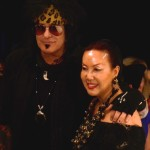 Nikki Sixx and Sue Wong