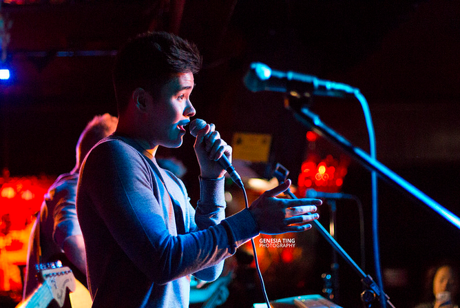 Will Jay at the Mint. Photo by Genesia Ting for the Los Angeles Beat.