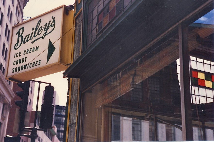 Bailey's Ice Cream Boston MA 1988