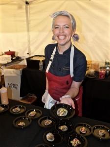 Chef Nikki Starr from Mesa