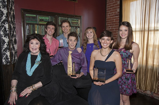Van Orden and this Year's Six Finalists; Photo Courtesy of Bill Dow
