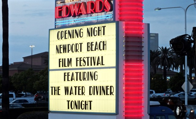 NBFF Opening night sign. Photo by Ed Simon for The Los Angeles Beat