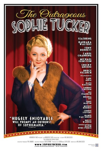 "Los Angeles Jewish Film Festival: Celebrates 10th Anniversary With Red Carpet Gala Honoring ""The Outrageous Sophie Tucker"""