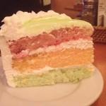 Paradise Cake Slice King's Hawaiian