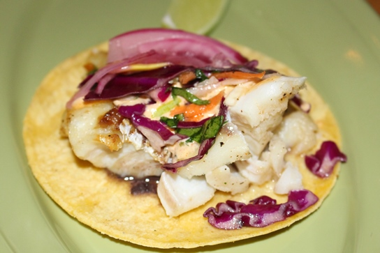 Fish tacos can be ordered in a variety of ways at Blue Plate Taco.