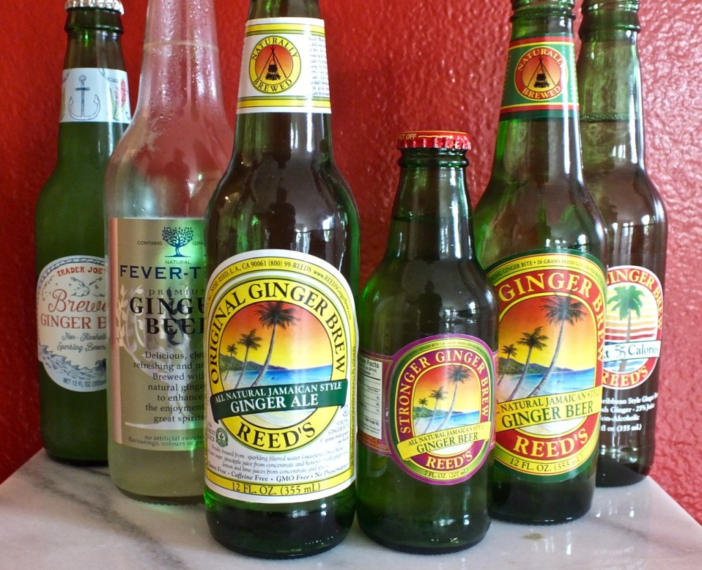 All Ginger Beer bottles. Photo by Ed Simon for The Los Angeles Beat.