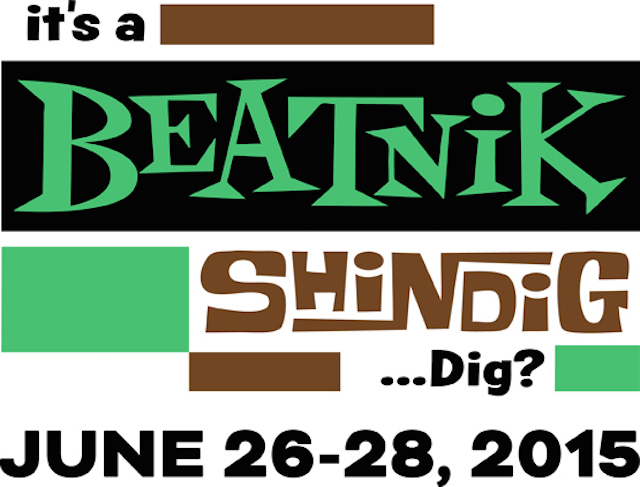 Beatnik Shindig Logo. Graphic courtesy of the Beat Museum.