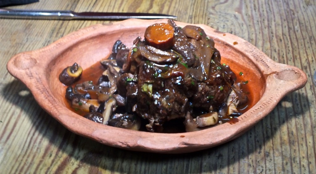Braised Oxtail dish