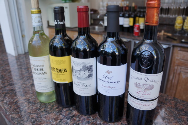 Wines from Bordeaux