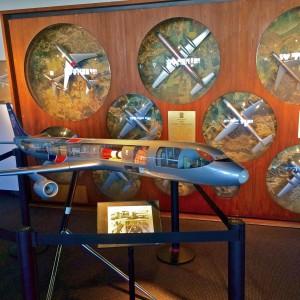 WWII Flying Tigers models (photo by Nikki Kreuzer)