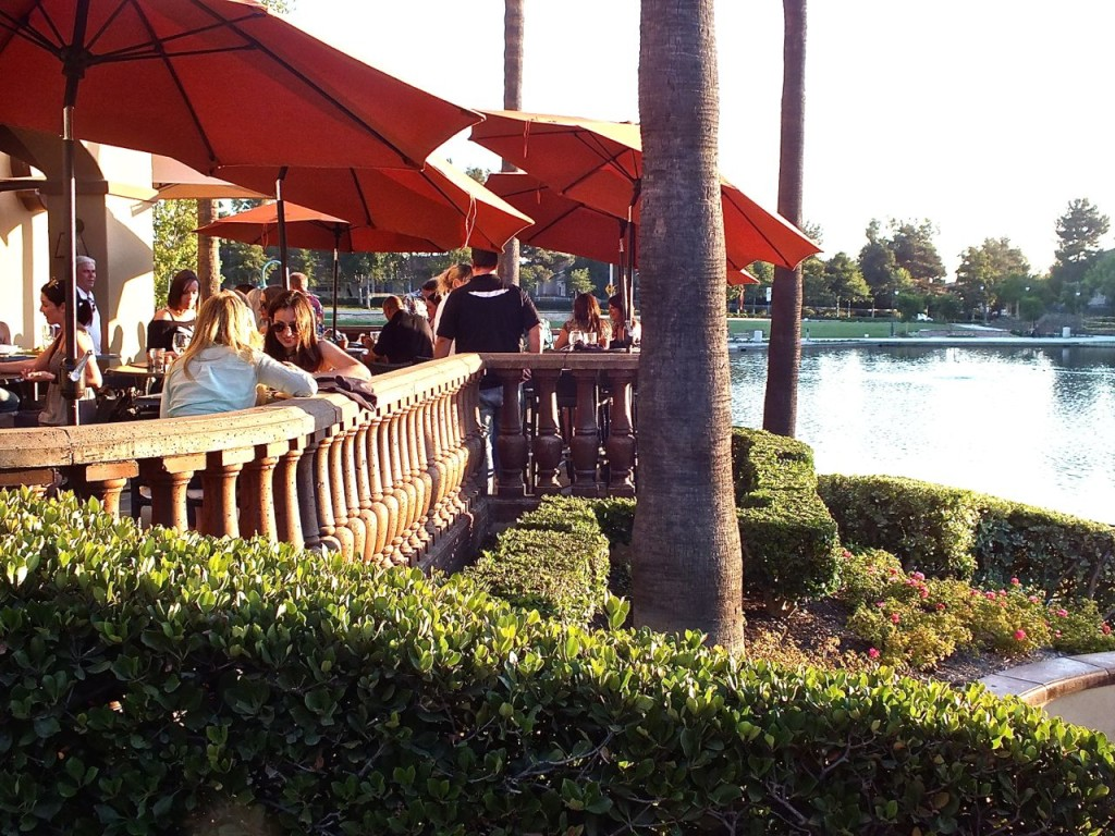 Blind Pig Deck Lake view. Photo by Ed Simon for The Los Angeles Beat.
